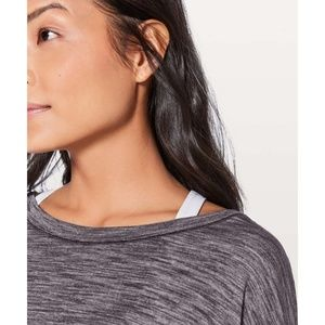 lululemon athletica Tops - Lulu Laced With Intent LS Lace-Up Corset Open Back